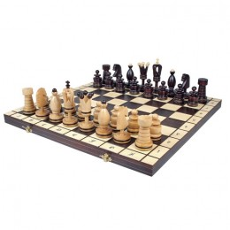 """Декоративные большие инкрустированные шахматы """"Royal"""""""