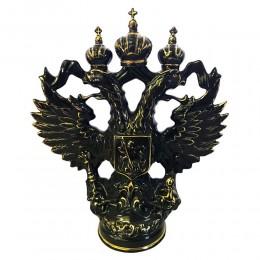 """Подарочный штоф """"Орел"""" черный с золотом"""