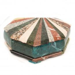 Шкатулка Ракушка с мозаикой большая 290х200х90мм