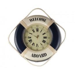 """Часы настенные """"Спасательный круг"""" d50 см"""