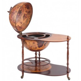 "Глобус-бар со столиком Tre Esse ""Virginio"", сфера 50см"
