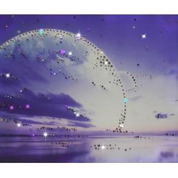 """Картина с кристалами Swarovski """"Земля"""""""