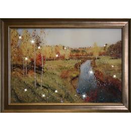 """Картина Swarovski """"Золотая осень"""""""
