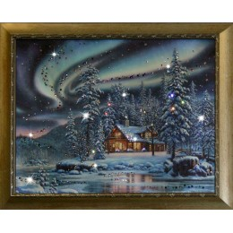 "Картина Swarovski ""Северное сияние"""