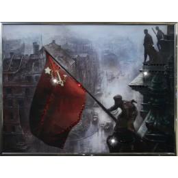 "Картина Swarovski ""Знамя победы"""