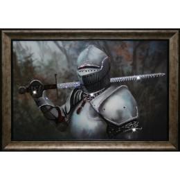 """Картина Swarovski """"Рыцарь"""""""