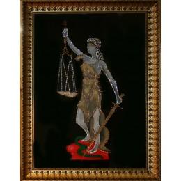 "Картина с кристалами Swarovski ""Богиня правосудия ""Фемида"""""