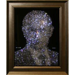 "Картина с кристалами Swarovski ""Путин"""