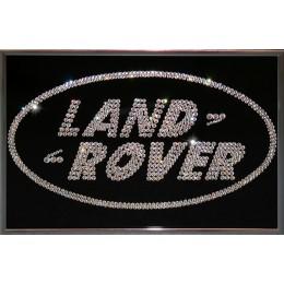 "Картина с кристалами Swarovski ""Land Rover"""
