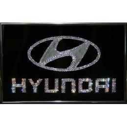 """Картина с кристалами Сваровски """"Hyundai"""""""