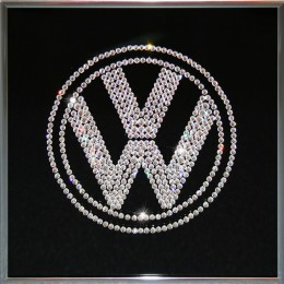 """Картина с кристалами Сваровски """"Volkswagen"""""""