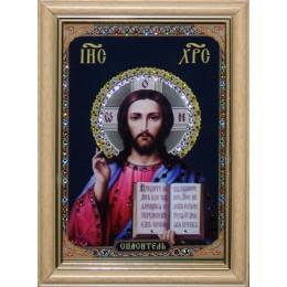 """Икона Swarovski """" Христос Спаситель малая"""""""