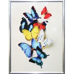 "Картина Swarovski ""Бабочки"""