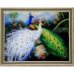 """Картина Swarovski """"Королевские птицы"""""""