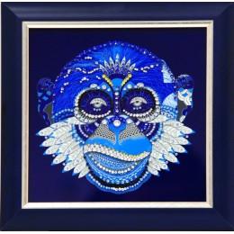 "Картина с кристалами Swarovski ""Маска обезьяны"""