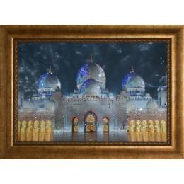 """Картина с кристалами Swarovski """"Мечеть-Дворец"""""""
