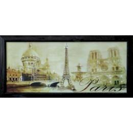 "Картина с кристалами Swarovski ""Панорама Париж"""