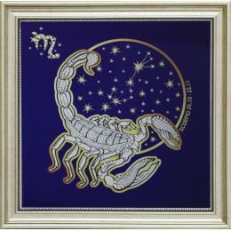 """Картина Swarovski """"Звездный скорпион"""""""