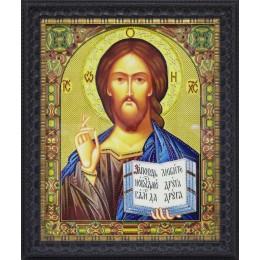 """Икона Swarovski """" Христос Спаситель большая"""""""