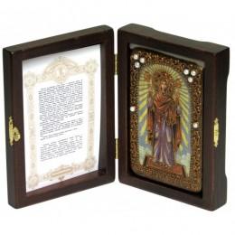 Икона настольная Образ Божией Матери «Нерушимая Стена»