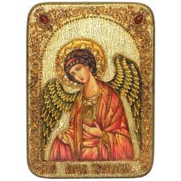 """Подарочная икона """"Ангел Хранитель"""" на дубе"""