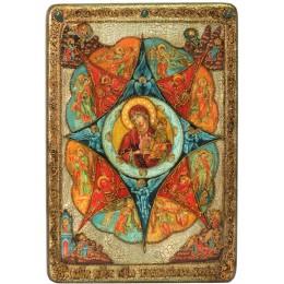 """Большая икона Божией матери """"Неопалимая купина"""" подарочная"""