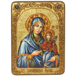 """Подарочная икона """"Святая праведная Анна, мать Пресвятой Богородицы"""""""