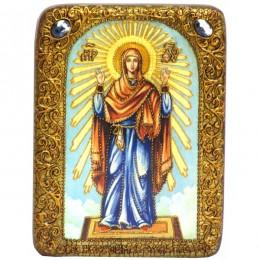 Икона подарочная Образ Божией Матери «Нерушимая Стена»