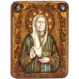 Икона подарочная Блаженная старица Матрона Московская