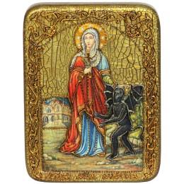 """Подарочная икона """"Святая великомученица Марина (Маргарита) Антиохийская"""""""