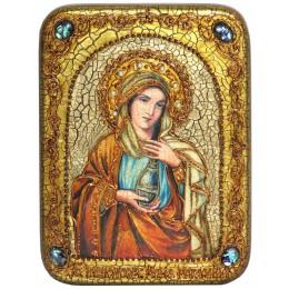 """Подарочная икона """"Святая Равноапостольная Мария Магдалина"""" полу-аналойного размера"""