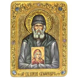 Живописная икона Паисий Святогорец