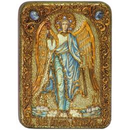 """Подарочная икона """"Ангел Хранитель"""" полуаналойного размера"""