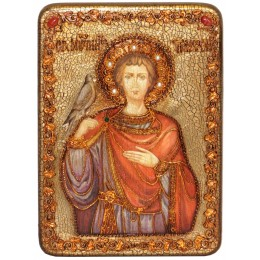 """Подарочная икона """"Святой мученик Трифон"""""""