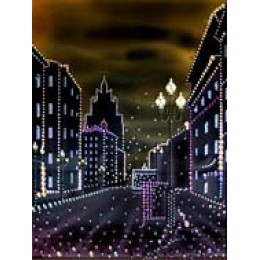 "Картина с кристалами Swarovski ""Арбат"""