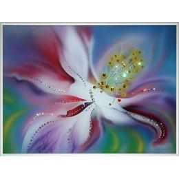 "Картина Swarovski ""Аленький цветочек-1"""