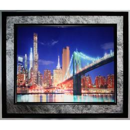 "Картина Swarovski ""Бруклинский мост 2"""