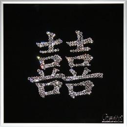 "Картина с кристалами Swarovski ""Двойная удача"""