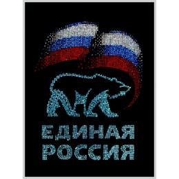 "Картина Swarovski ""Единая Россия"""
