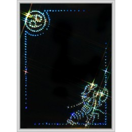 "Картина Swarovski ""Фоторамка знак зодиака Рак"""