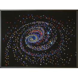 "Картина с кристалами Swarovski ""Галактика """