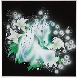 "Картина Swarovski ""Королевский конь"""