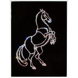 """Картина Swarovski """"Конь"""""""