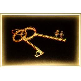 """Картина Swarovski """"Ключи к счастью"""""""