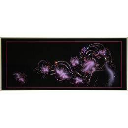 """Картина с кристалами Swarovski """"Краса весны"""""""