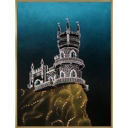 "Картина с кристалами Swarovski ""Ласточкино гнездо"""