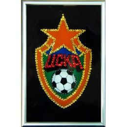 "Картина с кристалами Swarovski ""Логотип Вольво"""