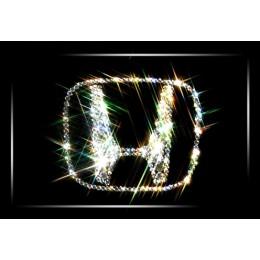 """Картина с кристалами Сваровски """"Логотип Honda"""""""