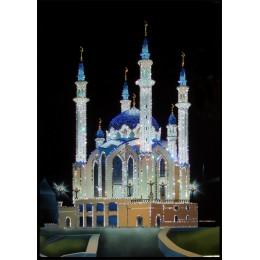 """Картина с кристалами Swarovski """"Мечеть Кул шариф"""""""