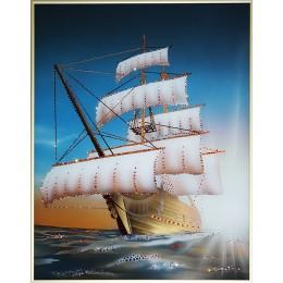 "Картина с кристалами Swarovski ""Морской круиз-2"""